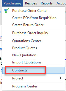 Fig. 1 - Accessing Contracts