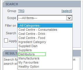 Fig 2 - New Filter On Drop-down List Values