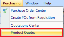 Product Quotations