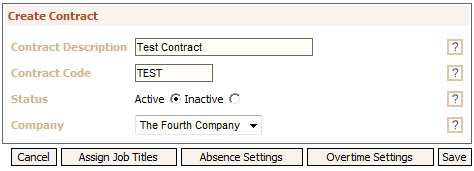Fig 1 - Creating a Contract