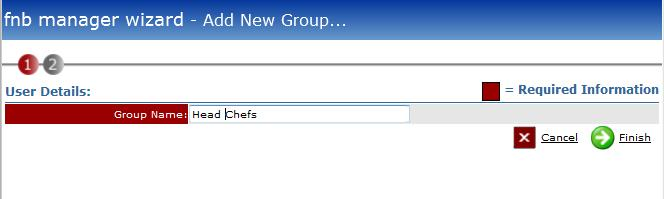 Fig 2 shows adding the group name