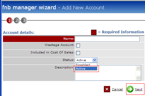 Fig 3 - Account Details