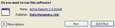 Fig 4 - Software Dialogue Box
