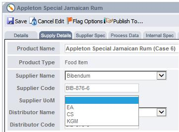 Fig 2 this image shows Supplier Details Tab After to Update