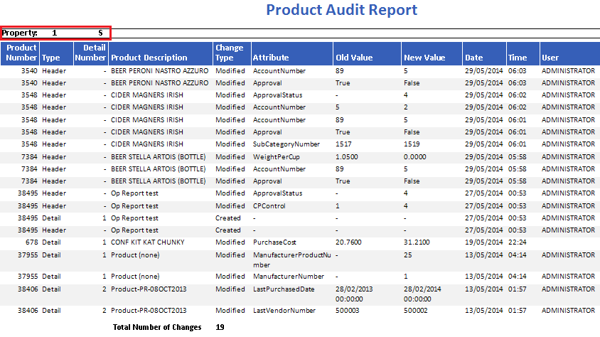 Product Audit Report at Central Purchasing